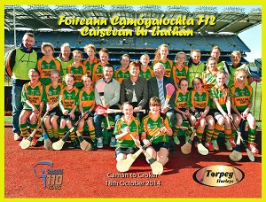Castlelyons U12 Camogie Team - Historic Games in Croker in 2014