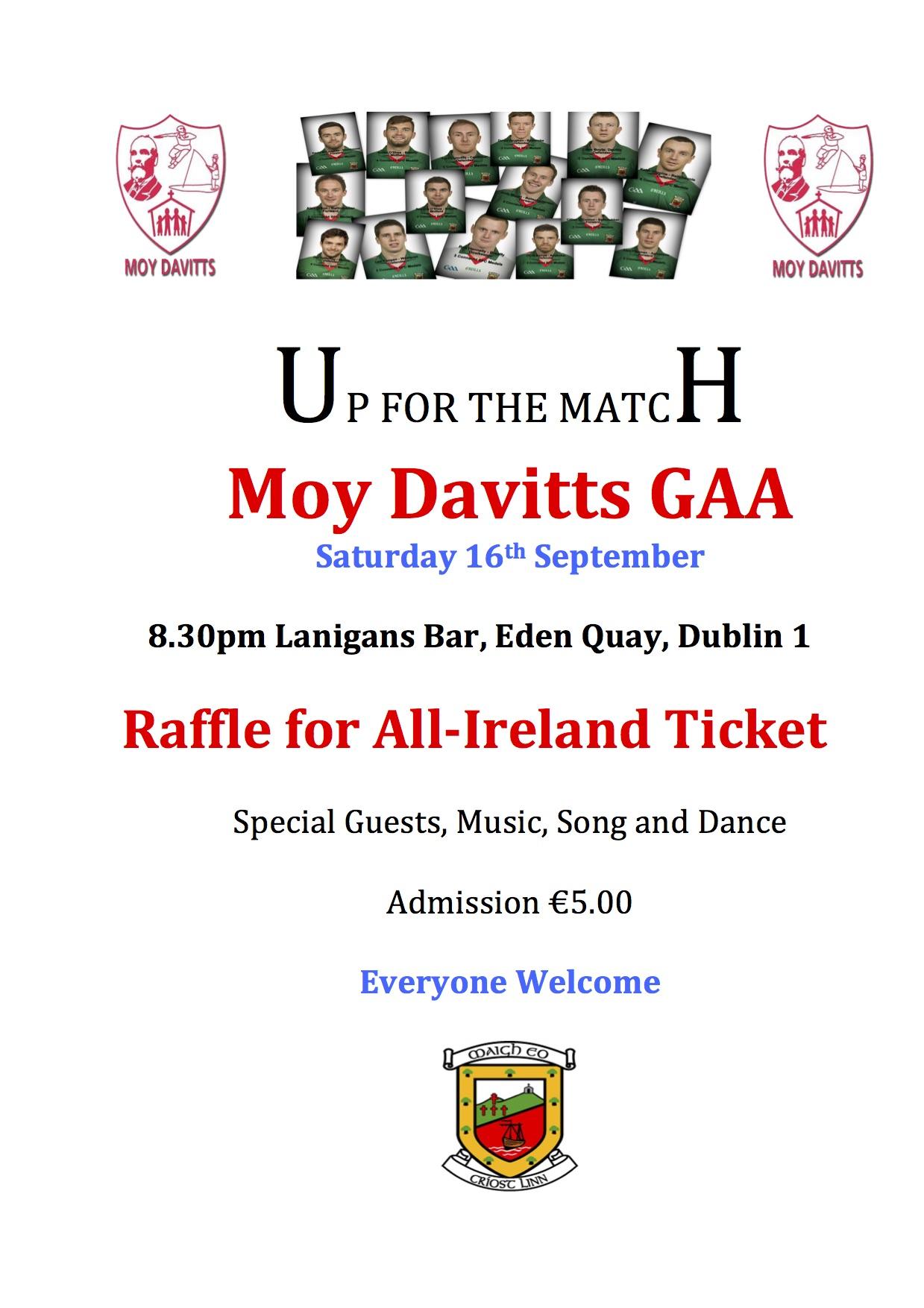 Moy Davitts GAA - Info | Facebook