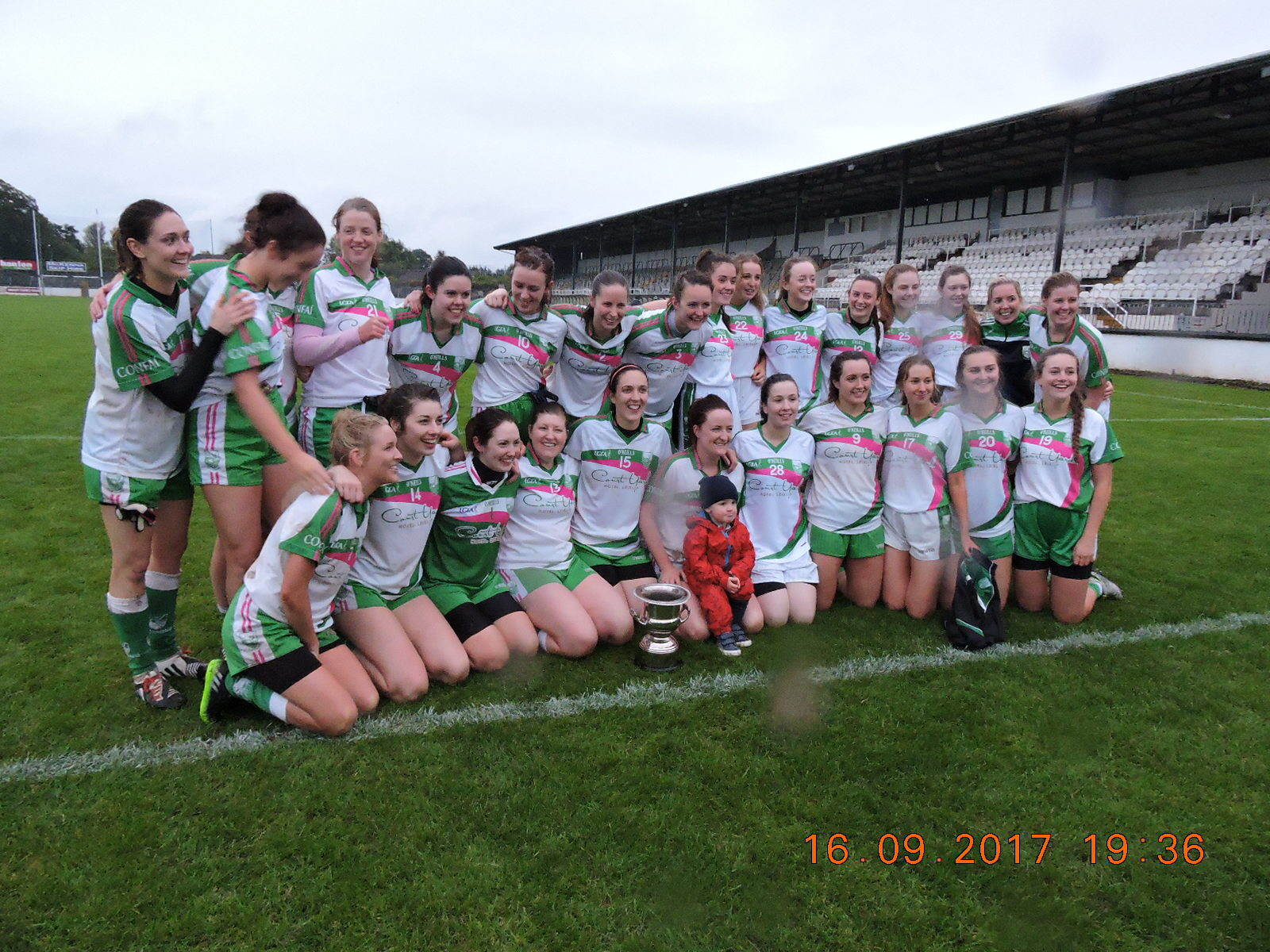 Confey defeated St. Lomans to book a spot in the Leinster SFC semi-finals
