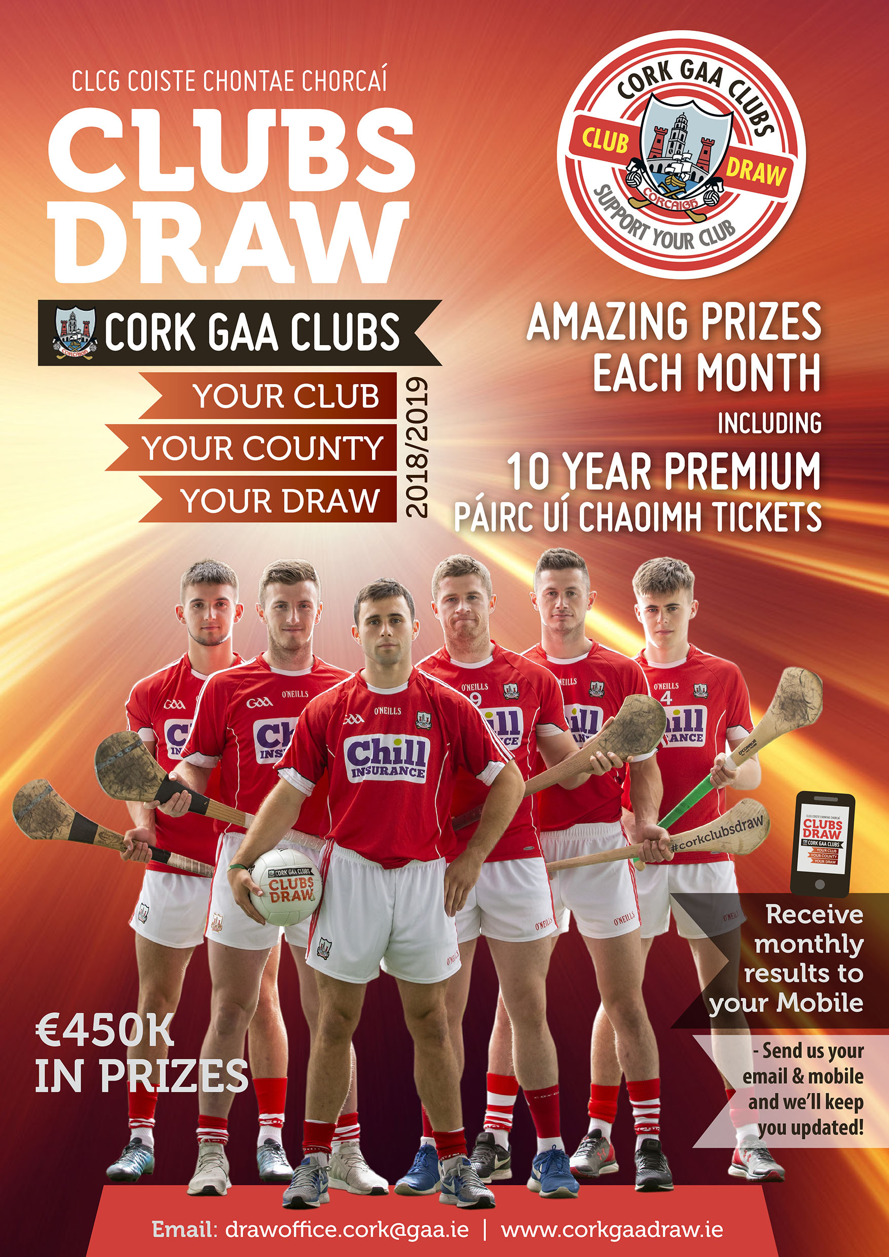 ... is on tonight Pairc Ui Rinn at 9pm sharp! Our September   October  winners will be chosen. We look forward to seeing you there. Don t miss out  join now! 413f2f1c8