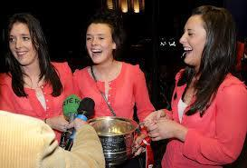 O Sullivan Sister with the Brendan Martin Cup