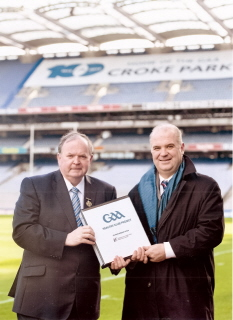 Healthy Club Project launch at Croke Park. 11th March 2013