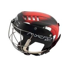 Juvenile Hurling Helmet Black/Red