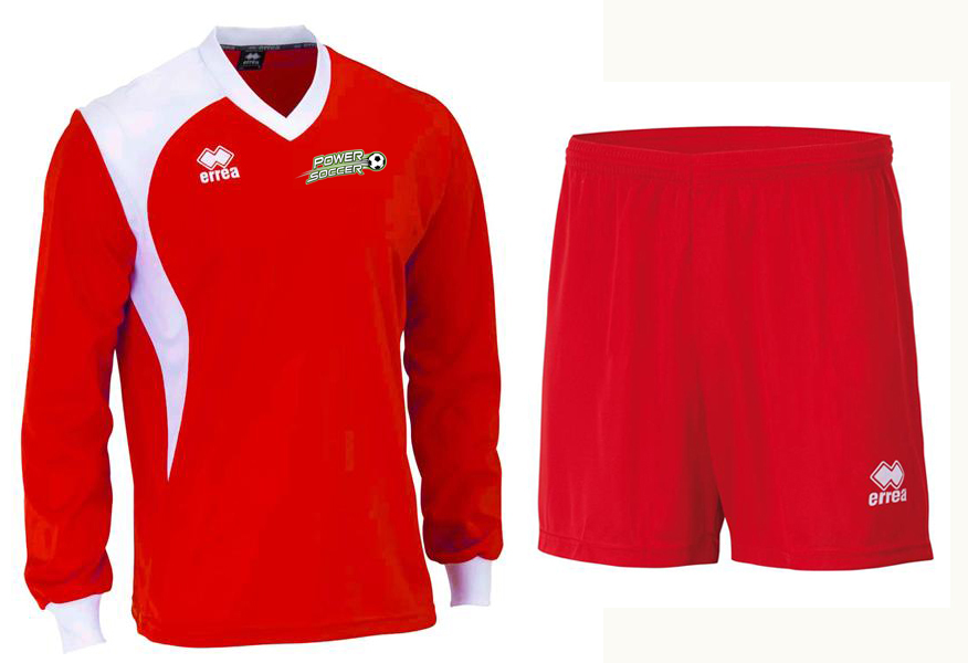 Power Soccer Away Kit (Red)