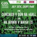 Ticket Arrangements for Westmeath...