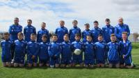 Boys Feile Team proudly sponsored by Mark Barbers