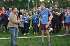 Captain Ciaran Foley accepts to Feile Cup 2015