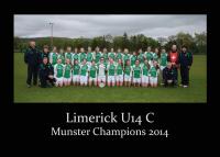 Limerick U14C Munster Champions 2014