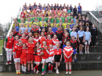 Exciting Day of Gaelic Football Activities in Mary I
