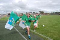 Limerick 2013 - U16 Captain Maeve Higgins