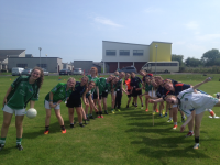 Limerick Ladies Football Summer Camp in Hospital