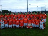 Mungret St Paul's Under 14 Girls Football County A Shield Champions 2013