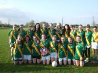 Ahane Under 16 Girls Football County Novice League Champions 2013