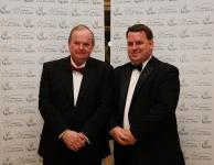 President of the GAA, Liam O'Neill and the Chairman of Middle East GAA, James Kennedy.