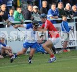 Colm Barry - strong tackle