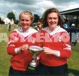 Cork U14 Camogie Star - Gráinne McCarthy(Right)