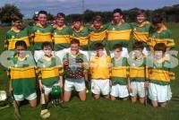 Under 14 Hurlers - League Champions 2014