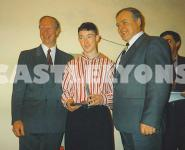 Trevor receives award