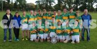 Under 15A Hurling League Champions East