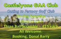 Castlelyons GAA Golf Outing