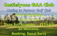 Castlelyons GAA Golf Outing