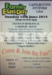 Family Fun Day Sunday 15.6.14