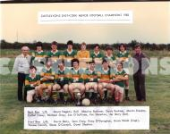 Minor Football 1983