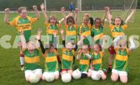 Castlelyons U8 Ladies Footballers