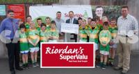 Ml Riordan of Riordan's Supervalue presents Sponsorship