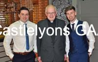 Brian, Eoin & Fr Coleman at Social