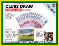 Support our Club - Clubs Draw - Massive Prizes