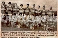 East Cork Under 21 Football Champions 1991