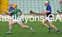 Niall O Leary passes for a goal