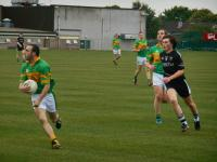 Premier Intermediate Footballer Alan Nolan in Action