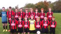 Mallow United team away to Avondale United Skechers U14D1