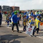 Carrigtwohill United on Parade