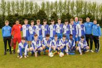 Corinthian Boys U15s who play St. Mary's in the final of the U15 SFAI SKECHERS National Cup Turners Cross Wed May 17 at 7.30pm