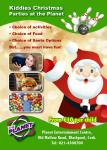 Book your Kiddies Christmas parties at the Planet Blackpool - our CSL Website sponsors!