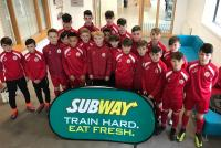 the Oriel House Hotel sponsored Cork U13s who had two good wins over S. Tipp and Waterford in the SFAI Subway Championship