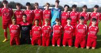 Cork U15s who beat Waterford 2-0