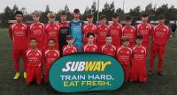 The Dennehy's Health & Fitness sponsored Cork U15s - SFAI Subway Munster Champions