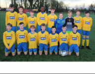 Carrigaline United U13s in SFAI Skechers Nat Cup last 16 action away to Mervue United in Galway