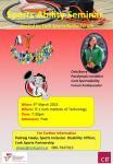 Sports Ability Seminar March 5 CIT