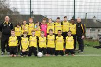 Riverstown U13s who defaeted Listowel Celtic in the U13 Skechers National Cup
