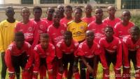 IFE Ghana Academy U13s in their CSL gear