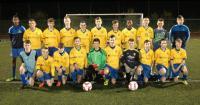 Carrigaline United A U15 Squad 2014/15
