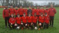 Mallow United U14s who qualified for the last 16 of the SFAI Skechers National Cup