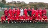 The Cork U16 Squad who drew 2-2 with Waterford in the SFAI Subway Championship in Carrigaline