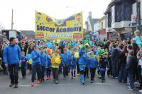 Carrigaline United on Parade