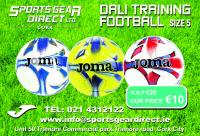 Great Joma Dali S5 Training Ball offer from Adrian Ryan's SportsGear Direct shop in Tramore Road